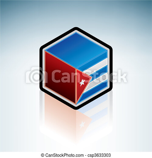 Republic of Cuba { Middle America } - csp3633303