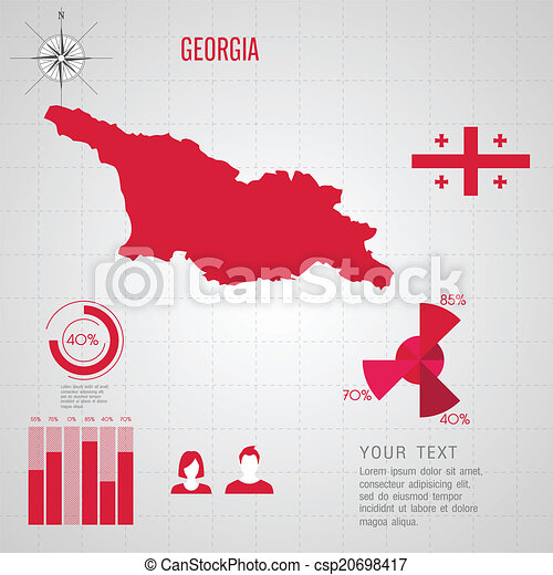 Map Of Republic Of Georgia.Republic Of Georgia World Map