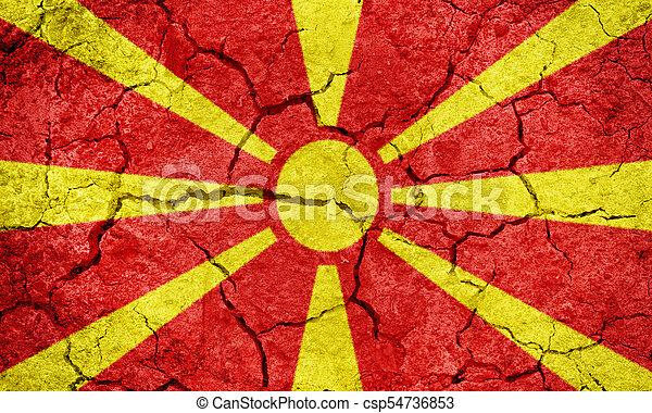 Republic of Macedonia flag - csp54736853