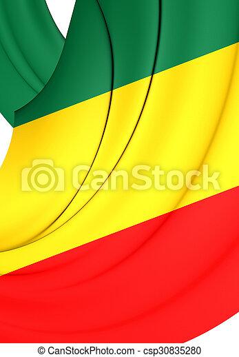 Republic of the Congo Flag - csp30835280