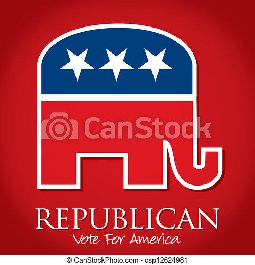 Republican - csp12624981