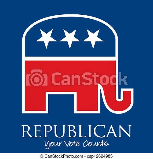 Republican - csp12624985