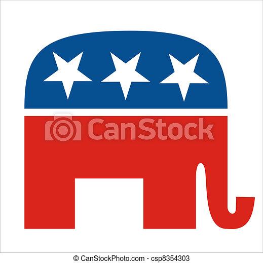 republicans - csp8354303