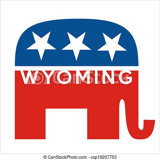 republicans Wyoming - csp19207753