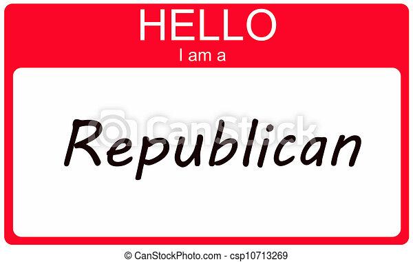 republikein, hallo - csp10713269