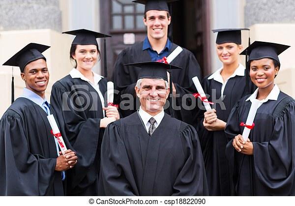 reputacja, grupa, dziekan, absolwenci - csp18822090