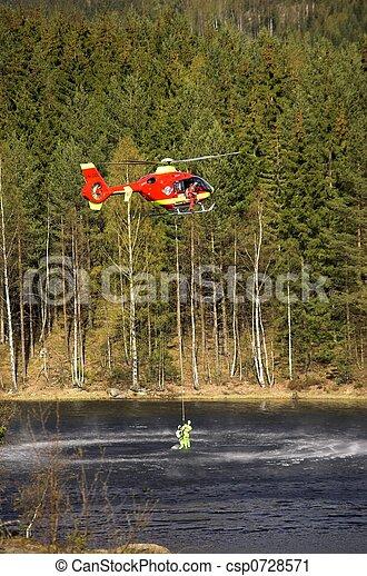 Rescue Chopper Lift - csp0728571