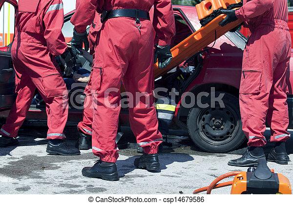 rescue operation - csp14679586