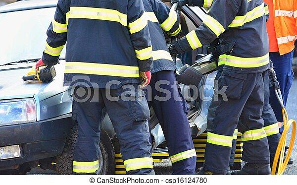 Rescue team - csp16124780
