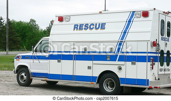 Rescue Vehicle - csp2007615