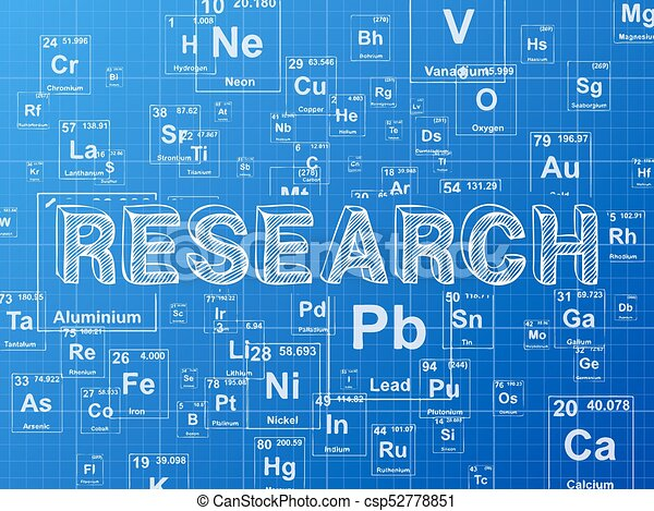 Research element blueprint background research word on clipart research element blueprint background csp52778851 malvernweather Gallery