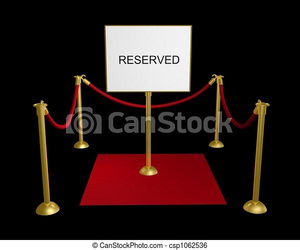 Zona reservada - csp1062536