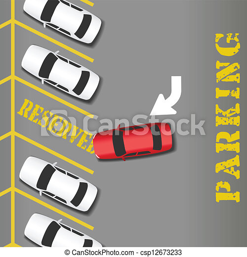 reserved parking business success car reserved parking lot place rh canstockphoto com parking area clipart parking lot pictures clip art