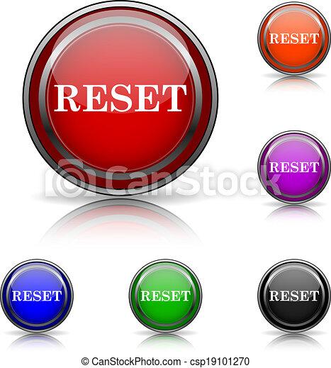 Reset icon - csp19101270