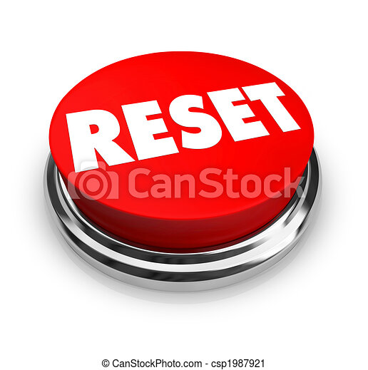 Reset - Red Button - csp1987921