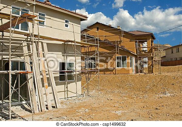 residencial, construção - csp1499632