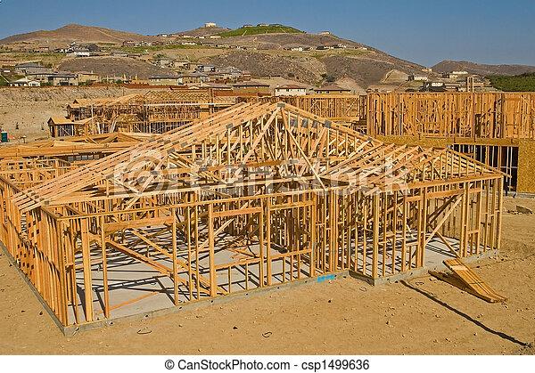 residencial, construção - csp1499636