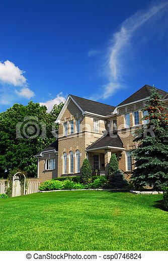 residencial, lar - csp0746824