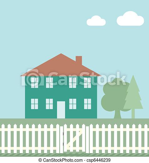 residencial, lar - csp6446239