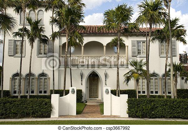residencial, praia, palma, oeste, lar - csp3667992