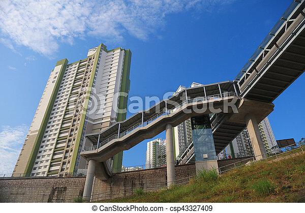 residentia, 家, 公衆, 政府 - csp43327409