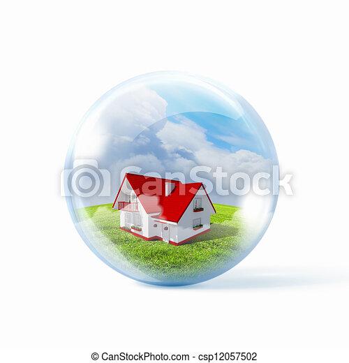 Residential building - csp12057502