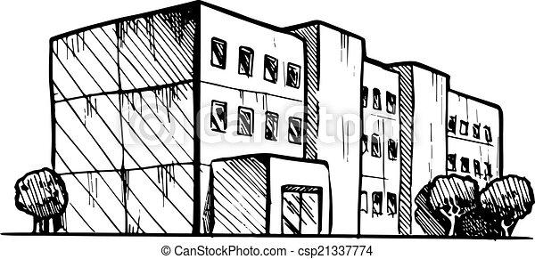 residential building - csp21337774