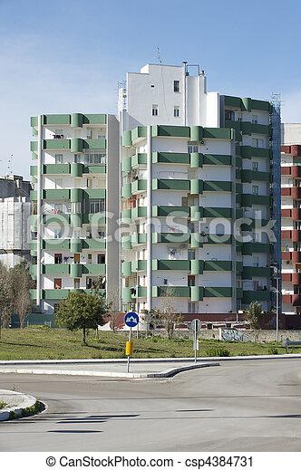 residential building - csp4384731