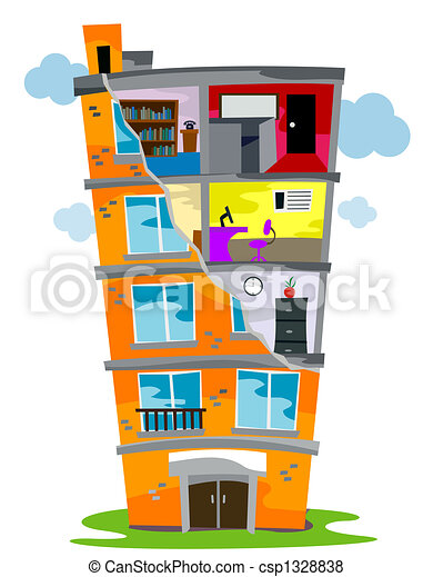 Residential Building - csp1328838