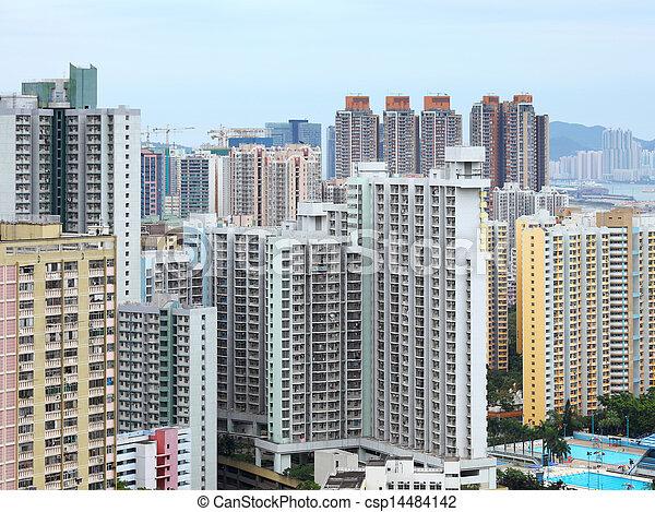 Residential building  - csp14484142