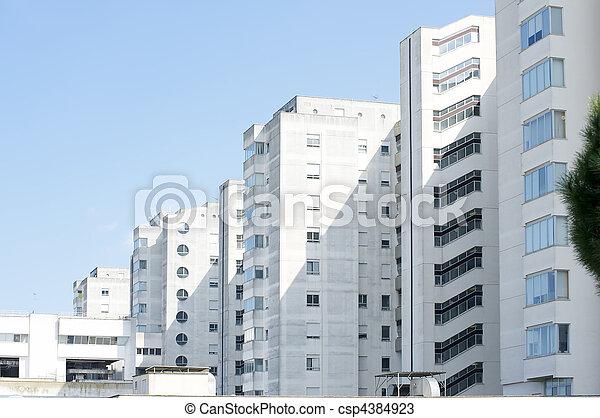 residential building - csp4384923