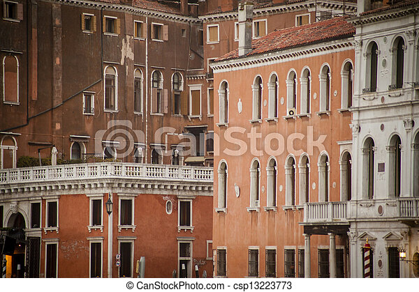 Residential buildings in Venice - csp13223773