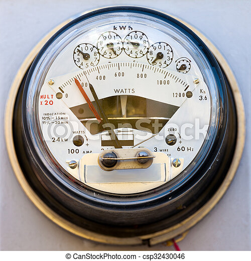 Residential electric power meter - csp32430046