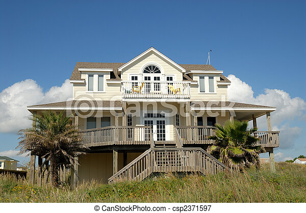 Residential house in the southern United States - csp2371597