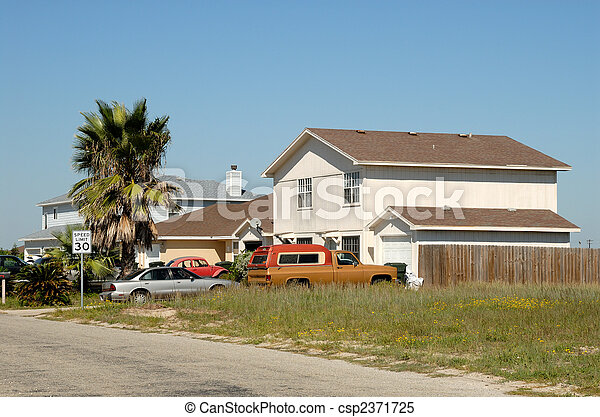 Residential house in the United States - csp2371725