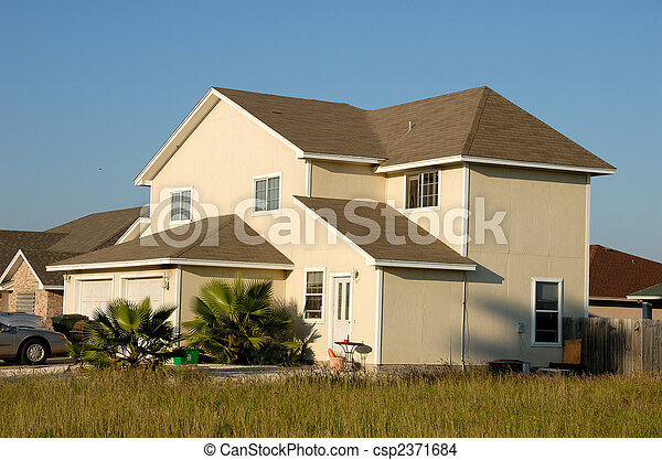 Residential house in the United States - csp2371684