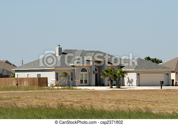 Residential house in the United States - csp2371802