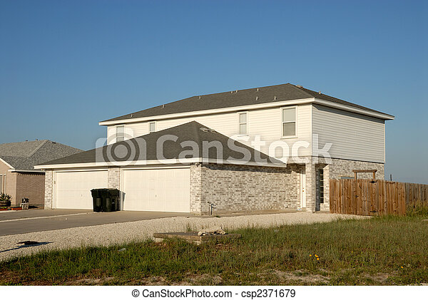 Residential house in the United States - csp2371679