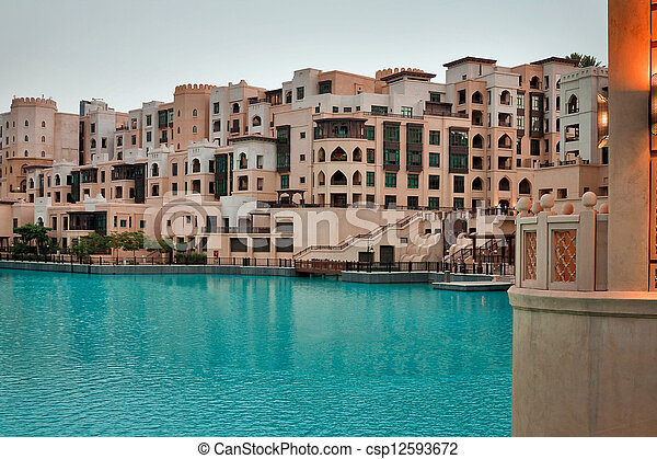 Residential houses in Dubai - csp12593672