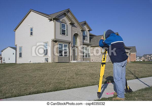 Residential Land Surveying - csp4035032
