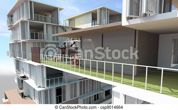 Residential rendered - csp9014664