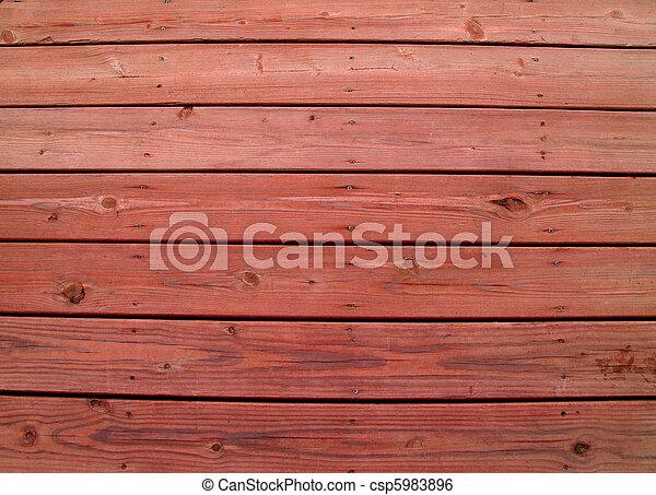 resistido, redwood, coberta madeira - csp5983896