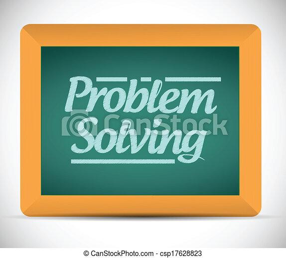 resoluciónde problemas, mensaje - csp17628823