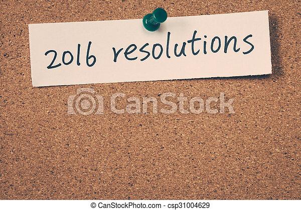 resolutions, 2016 - csp31004629