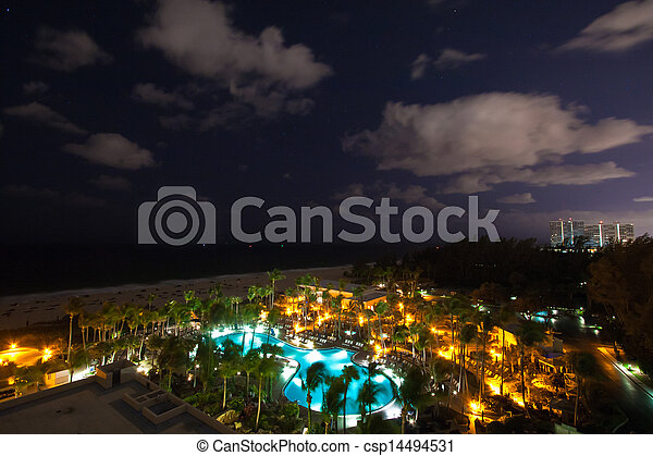 Resort in Fort Lauderdale, Miami - csp14494531