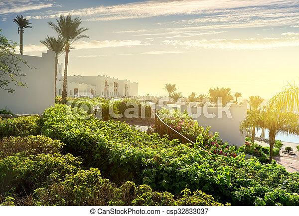 Resort in Sharm el Sheikh - csp32833037