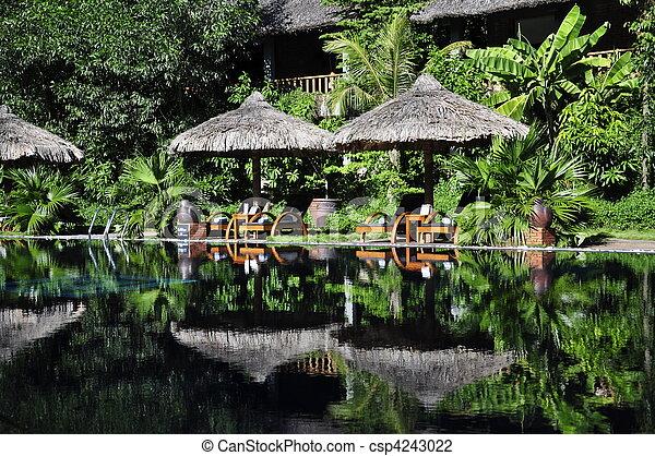 Resort Pool - csp4243022