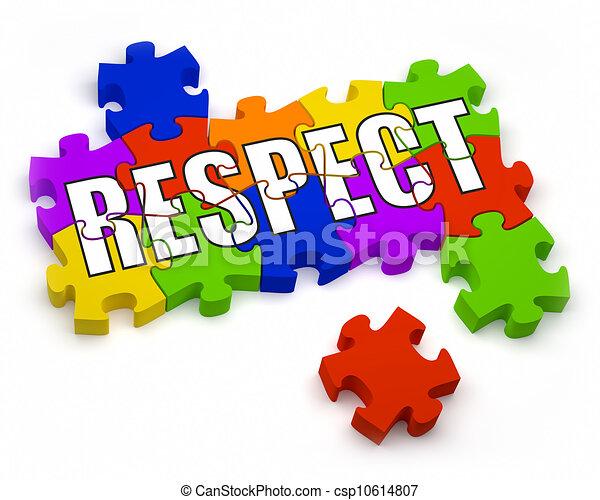 Respeto - csp10614807