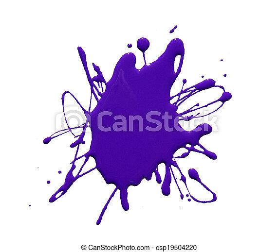 respingo tinta - csp19504220