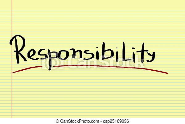 Responsibility Concept - csp25169036